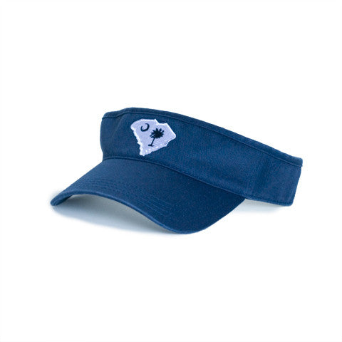 South Carolina Traditional Hat Visor Navy