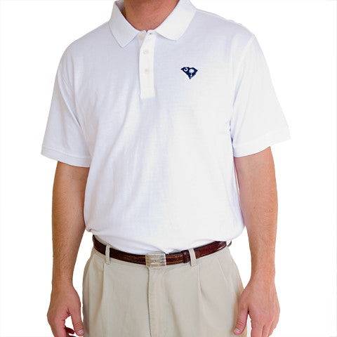 South Carolina Traditional Polo White