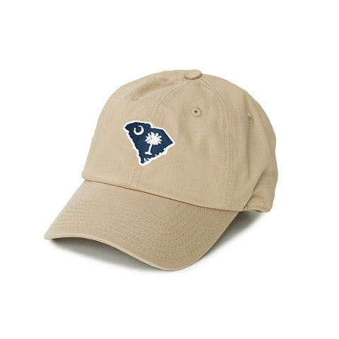 South Carolina Traditional Hat Khaki