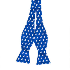 South Carolina Traditional Bow Tie Blue with White