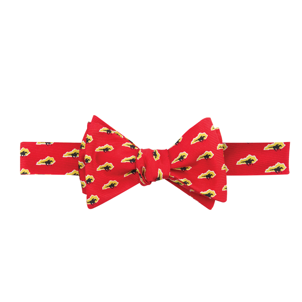 Kentucky Traditional Bow Tie Red