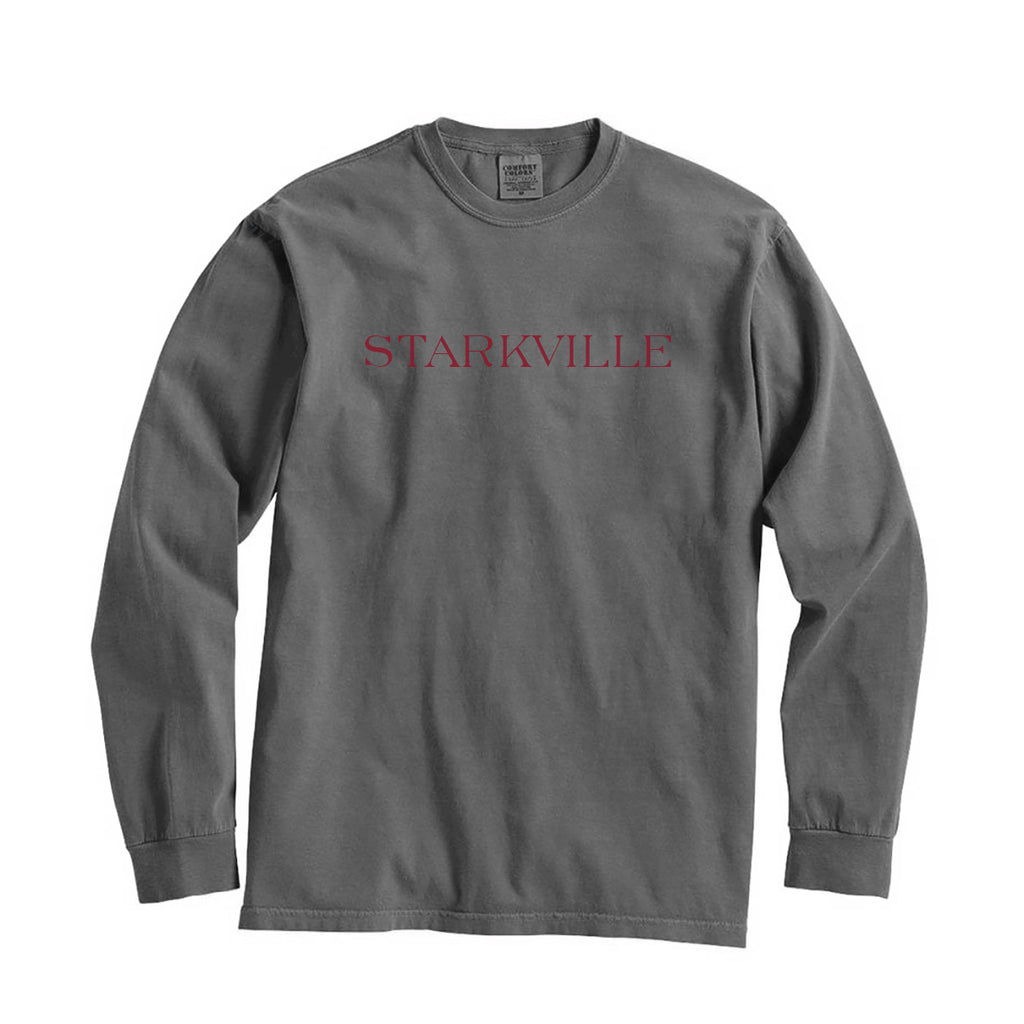 Mississippi Starkville City Series Long Sleeve T-Shirt