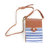 America Crossbody Bag Blue and White
