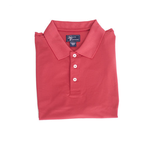 Clubhouse Performance Polo Red