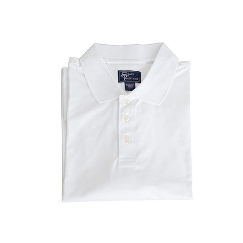 Clubhouse Performance Polo White