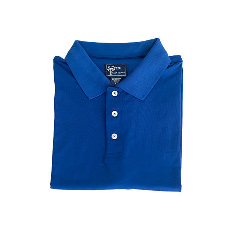 Clubhouse Performance Polo Blue
