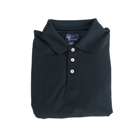 Clubhouse Performance Polo Black