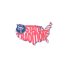 State Traditions America Sticker