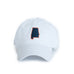 White Auburn Alabama Gameday Hat Front View