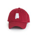 Crimson Alabama Tuscaloosa Gameday Hat Crimson Front View