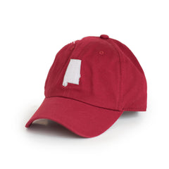 Crimson Alabama Tuscaloosa Gameday Hat Crimson Side View