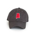 Charcoal Grey Alabama Tuscaloosa Gameday Hat Front View