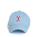 Light Blue Alabama Traditional Hat Front View
