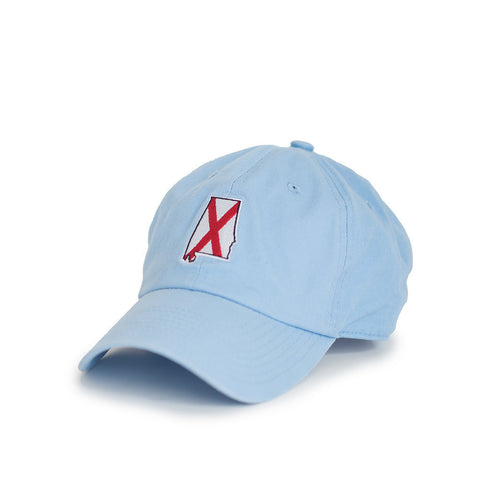 Light Blue Alabama Traditional Hat Side View