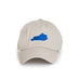 Kentucky Lexington Gameday Khaki Hat Front View