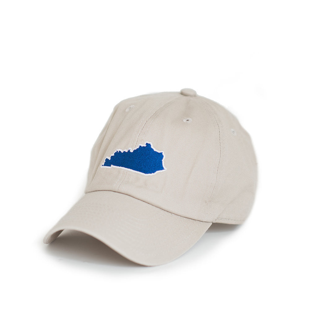 Kentucky Lexington Gameday Khaki Hat Side View