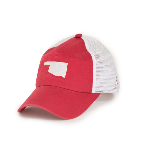 Oklahoma Norman Gameday Trucker Hat Crimson