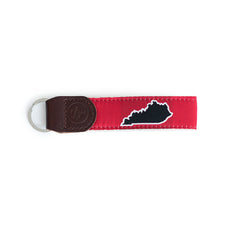 Kentucky Louisville Gameday Red Key Fob