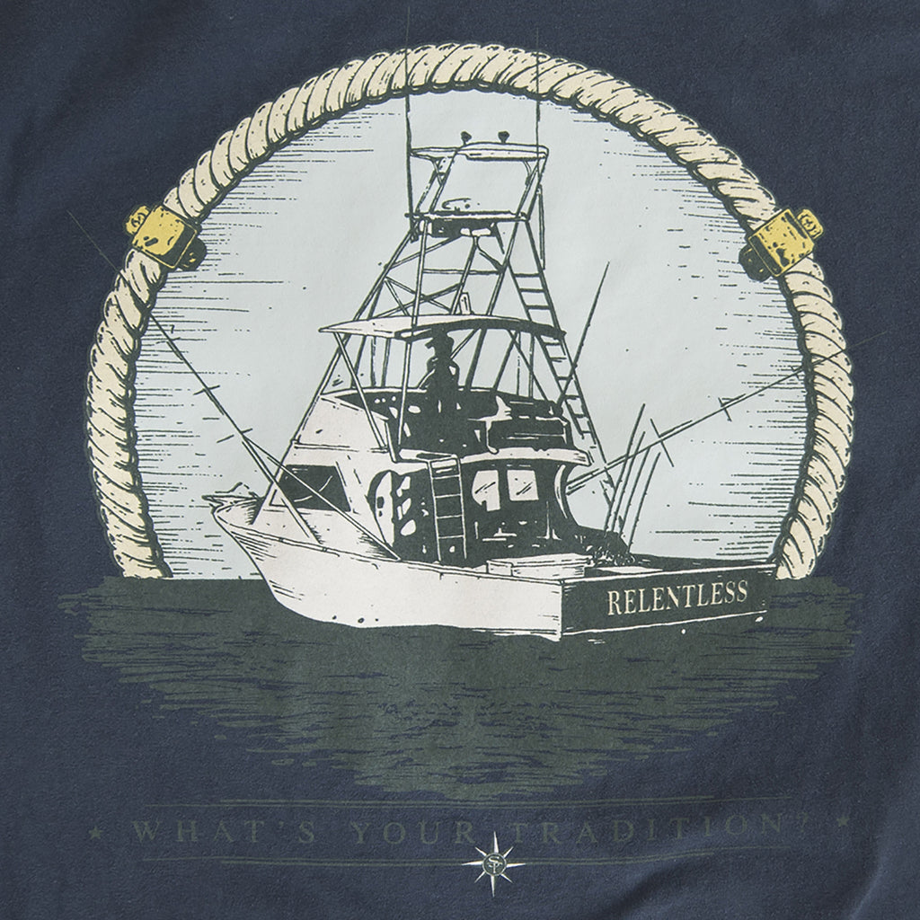 Coastal Collection Relentless T-Shirt Navy