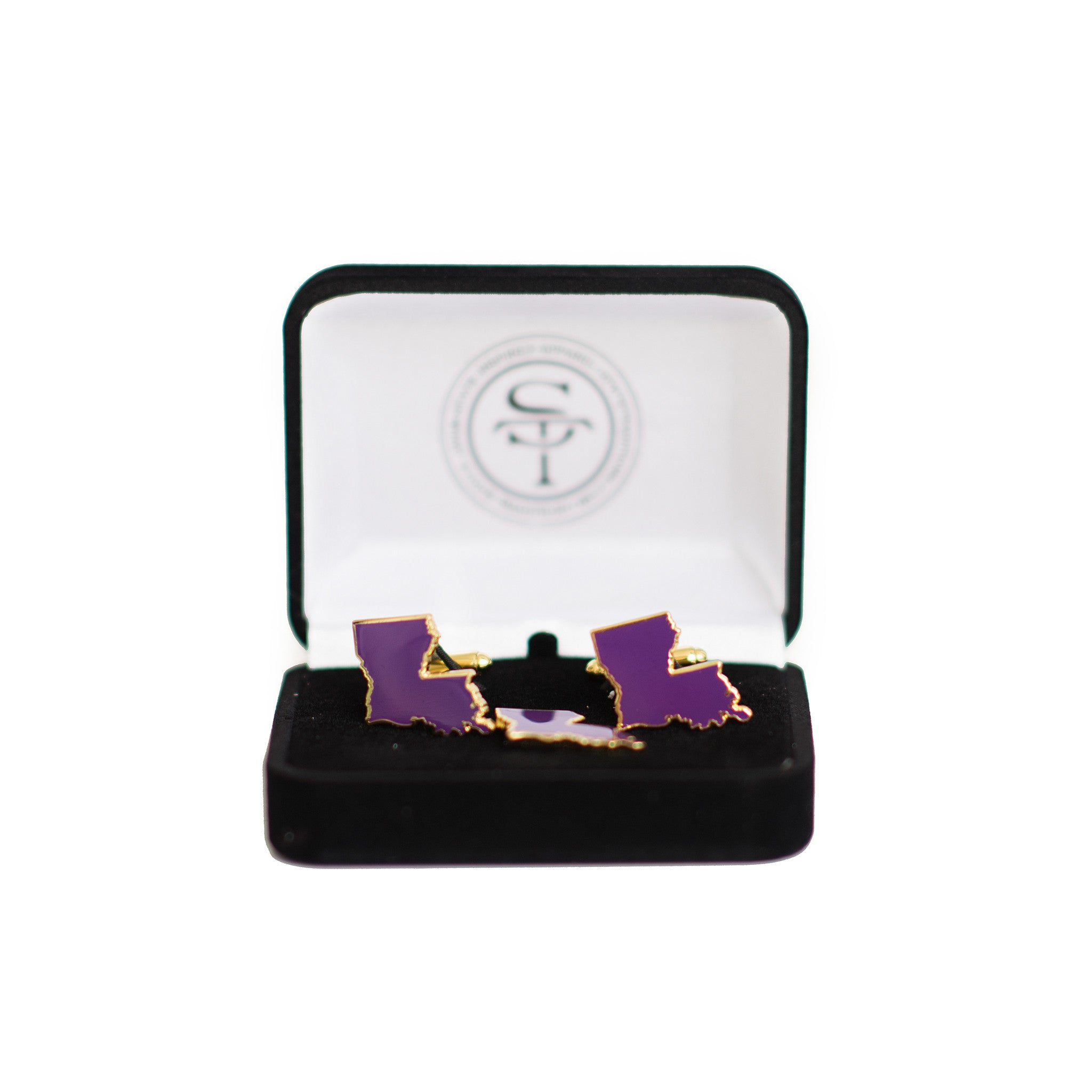 Louisiana Baton Rouge Gameday Cuff Links Set - State Traditions
