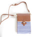 Texas Crossbody Bag Blue and White
