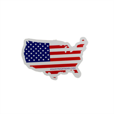 America Traditional Sticker