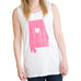 Alabama Love Tank White
