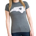 North Carolina Love Women's T-Shirt Grey