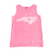 North Carolina Love Tank Pink