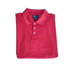 Clubhouse Performance Polo Crimson