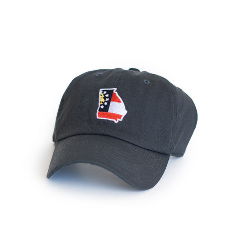 Georgia Classic Adjustable Navy Hat. Georgia Traditional Hat, Georgia Cap, Peach State Pride.