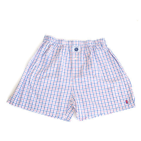 Mississippi Oxford Gameday Boxers Red and Blue