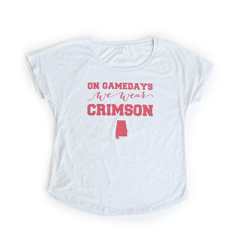 Alabama Women's Gameday T-shirt White