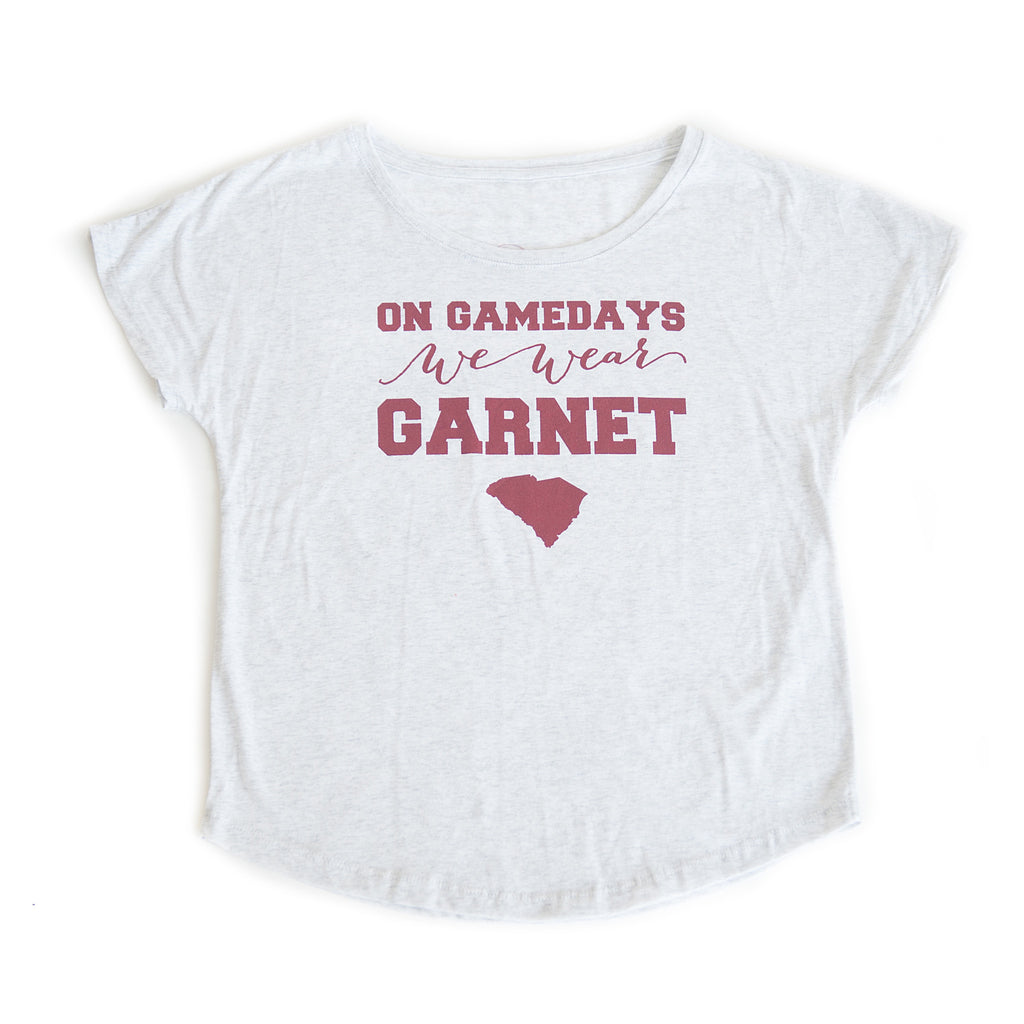 South Carolina Women's Gameday T-shirt White