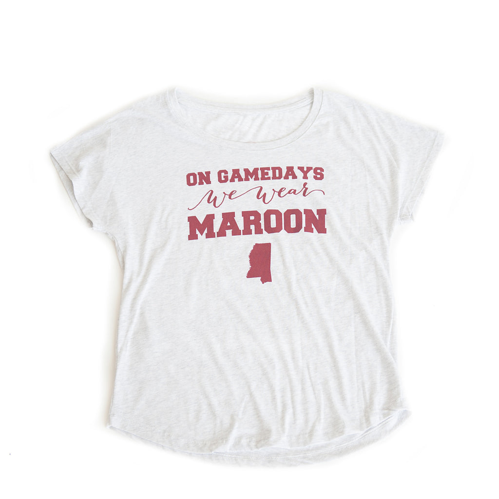 Mississippi Women's Gameday T-shirt White