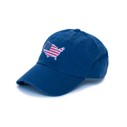 America Traditional Hat Blue