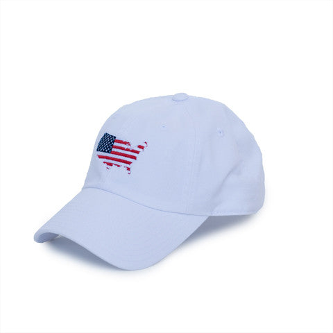 America Traditional Hat White
