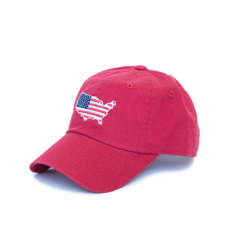 America Traditional Hat Red