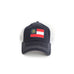 Peach State of Georgia Flag Trucker Hat GEORGIA PATCH TRUCKER HAT Country Club Prep GA Hat The Great State of Georgia flag cap
