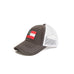 Peach State Pride Country Club Prep GEORGIA PATCH TRUCKER HAT