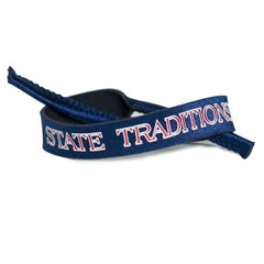 State Traditions Croakies Navy with Red