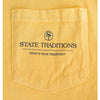 State Traditions Logo Long Sleeve T-Shirt Yellow