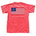 ST American Flag T-Shirt Red