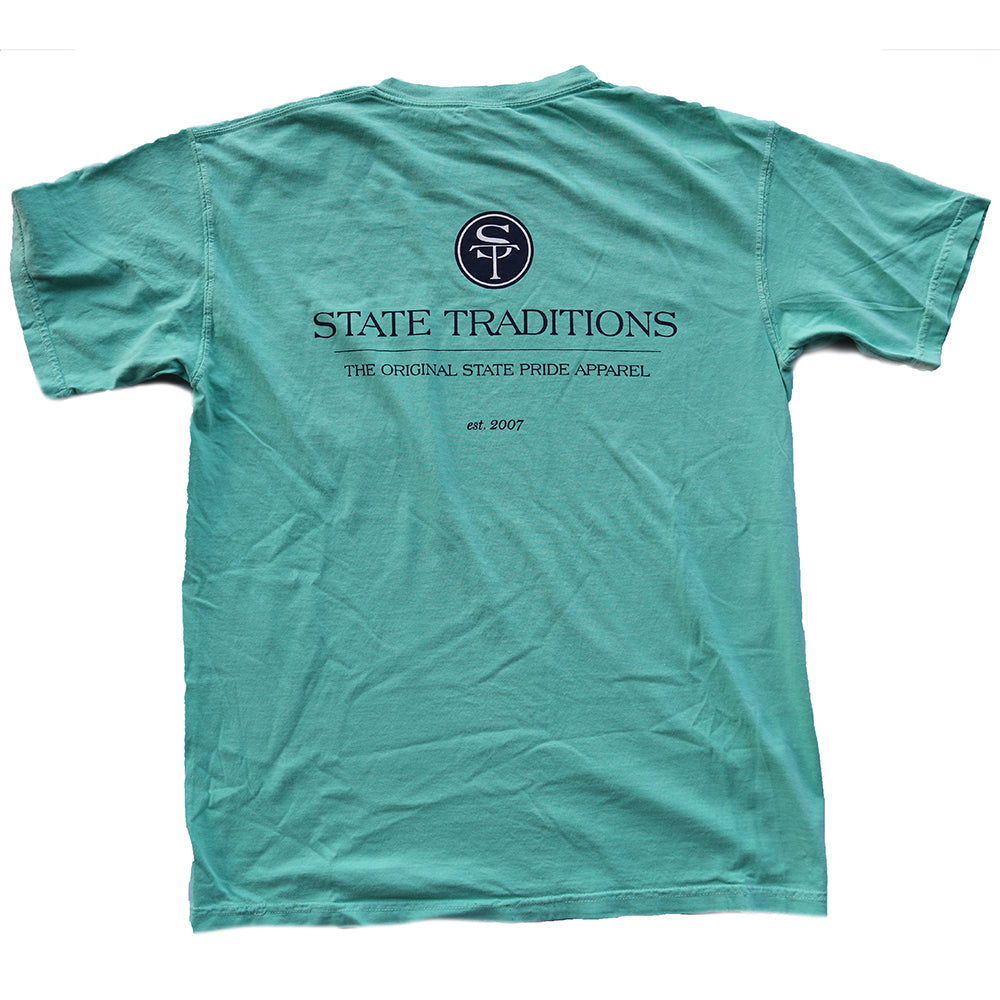 State Traditions Logo T-shirt Island Reef