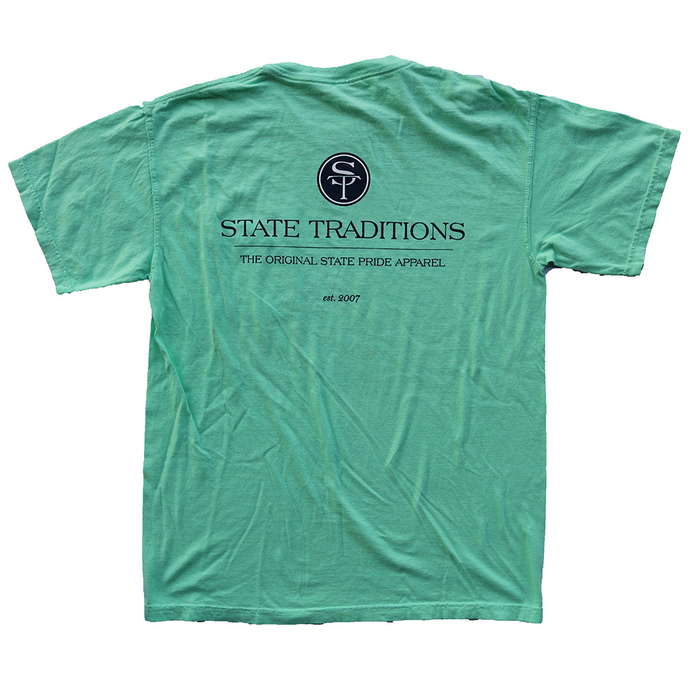 State Traditions Logo T-shirt Chalky Mint