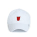 State Traditions party cup hat white