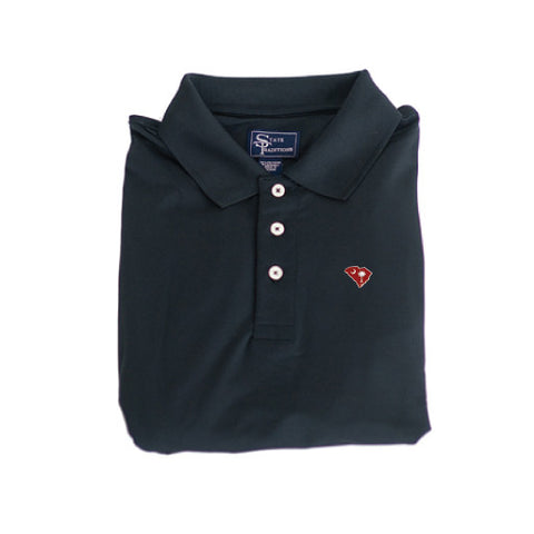 South Carolina Columbia Clubhouse Performance Polo Black