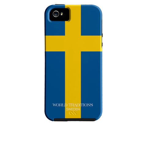 Sweden Flag iPhone Case