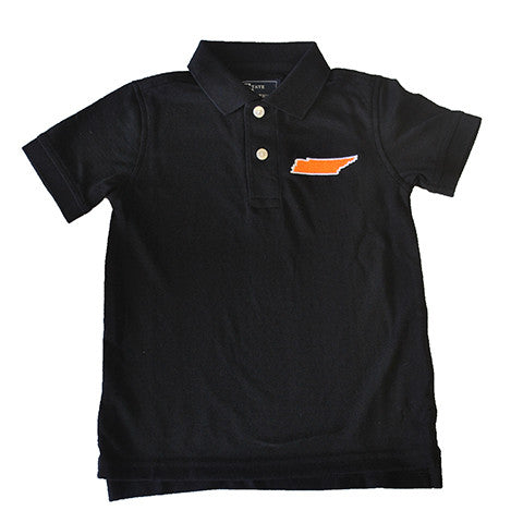 Tennessee Knoxville Gameday Youth Polo Black