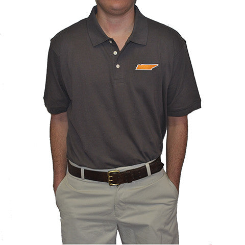 Tennessee Knoxville Gameday Polo Grey